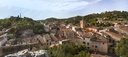 Panorama chateau- Eglise Tourves1