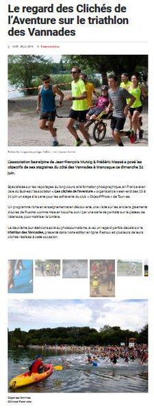 article de journal triathlon des Vannades.JPG